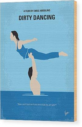 Dance Digital Art Wood Prints