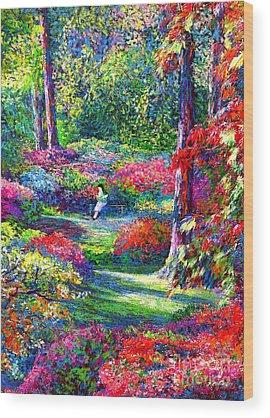 Bushes Wood Prints