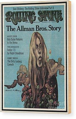 Rolling Stone Wood Prints
