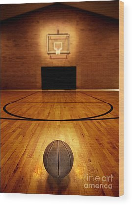 Basketball Wood Prints
