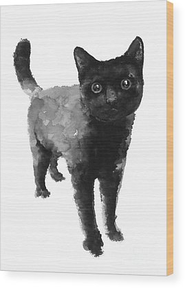 Kitten Wood Prints