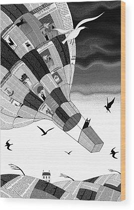Wind Wood Prints