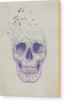 Skulls Wood Prints