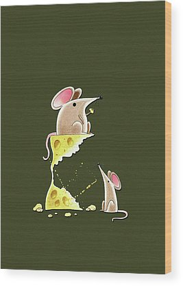 Mouse Wood Prints