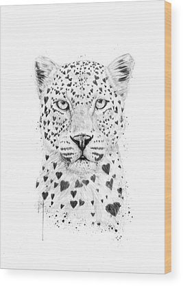 Leopard Wood Prints