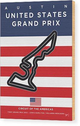 Grand Prix Wood Prints