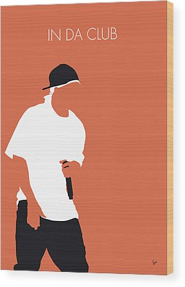 Eminem Wood Prints