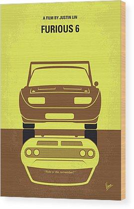 Dwayne Johnson Wood Prints