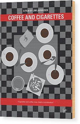 Caffeine Wood Prints