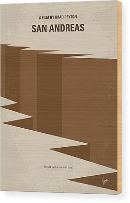 Earthquake Wood Prints