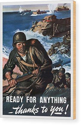 Soldier Wood Prints