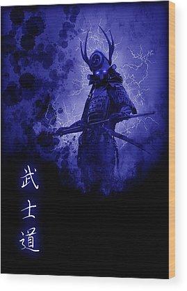 Feudal Japan Wood Prints