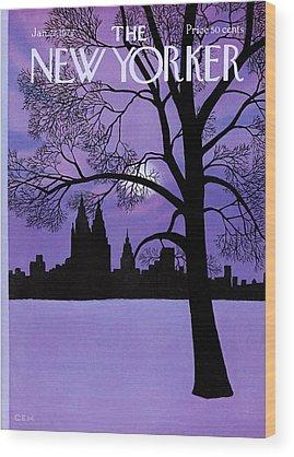 E Wood Prints
