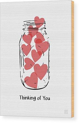 Heart Wood Prints