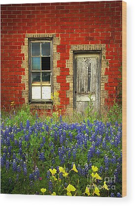 Red Door Wood Prints