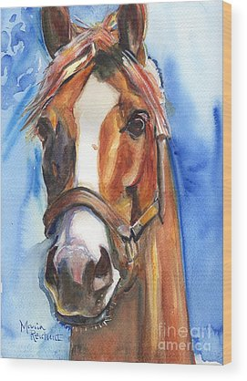 Thoroughbred Racing Wood Prints