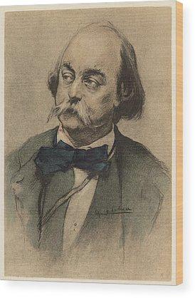 Gustave Flaubert Wood Prints