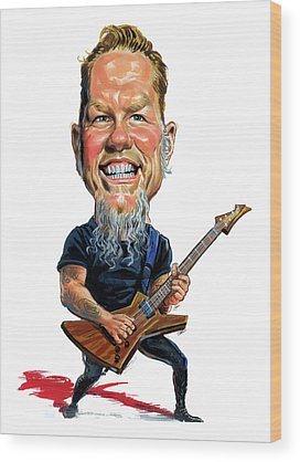 Metallica Wood Prints