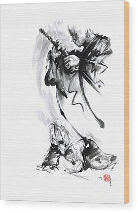 Kendo Wood Prints