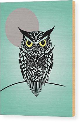 Owl Wood Prints