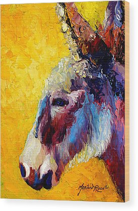 Donkey Wood Prints