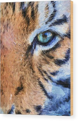 Tigger Wood Prints