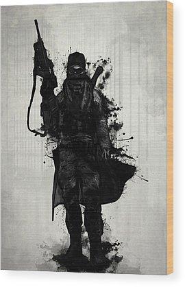 Warrior Wood Prints