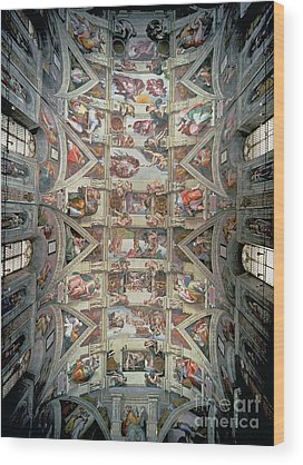 Michelangelo Wood Prints
