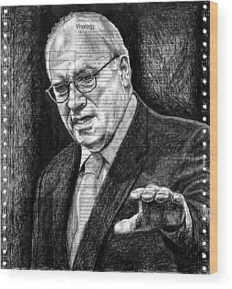 Dick Cheney Wood Prints