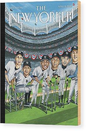 Yankee Stadium Wood Prints