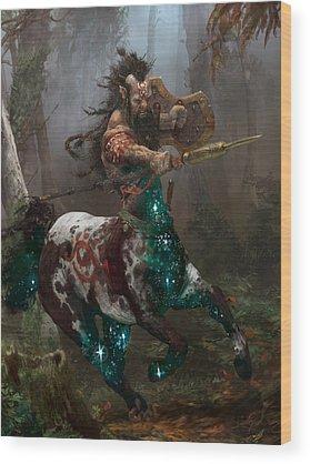 Centaur Wood Prints