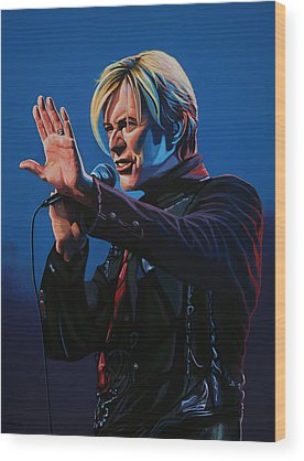 David Bowie Wood Prints