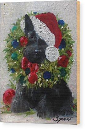 Scottish Terrier Wood Prints