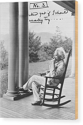 Designs Similar to Mark Twain On A Porch