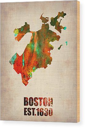 Boston Wood Prints