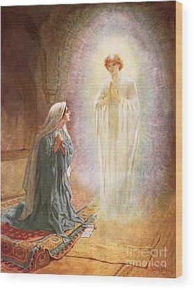 Annunciation Wood Prints