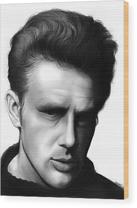 James Dean Wood Prints