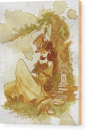 Steampunk Wood Prints