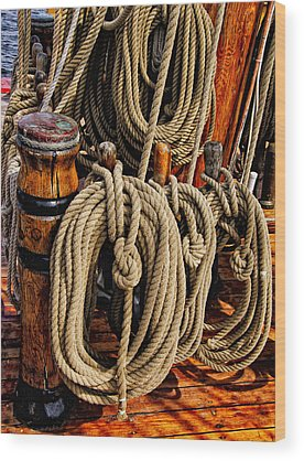 Maine Bounty Wood Prints