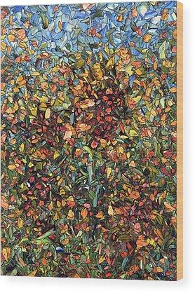 Mosaic Wood Prints