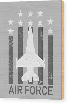 Nuclear Bomber Wood Prints