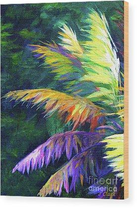 Palm Frond Wood Prints