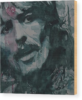 George Harrison Wood Prints