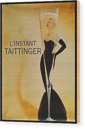 Taittinger Wood Prints