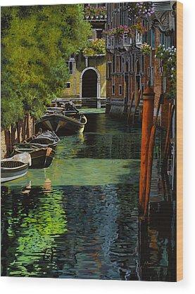 Gondola Wood Prints