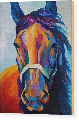 Horse Wood Prints