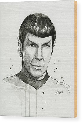 Star Trek Wood Prints