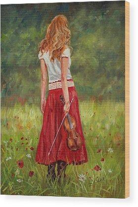 Violins Wood Prints