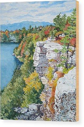 Mira Fink Landscapes Wood Prints