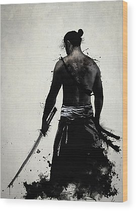 Samurai Wood Prints